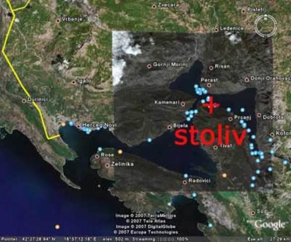 stoliv crna gora mapa Letovanje   Crna Gora   Stoliv Rumsko odmaraliste stoliv crna gora mapa
